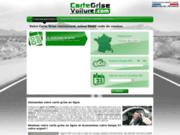 Demande de certificat d'immatriculation en ligne