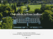 Chateau de la cour Senlisse dans les Yvelines