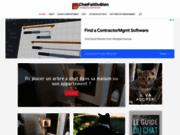 Le blog des chats heureux