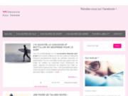 Site officiel blog féminin www.chaussurepourfemme.fr