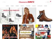 Chaussures Duretz : vente de chaussures en ligne