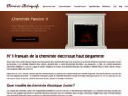 Cheminée Passion - cheminée électrique haut de gamme