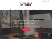 Cheminées Miroy - poêles et cheminées à Dijon