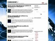 Actualités et informations sur le web avec cherchenet