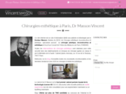 Chirurgien esthétique Vincent Masson