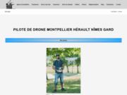Pilote de drone Montpellier Nîmes Béziers Occitanie