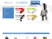 Clés USB publicitaire kelcom