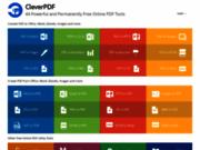 CleverPDF.com- Convertisseur de PDF