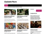 Clochette fleurs, site d'art floral et de décoration