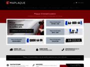 Plaque d'immatriculation en ligne moto - Cmaplaque