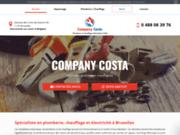 Artisan plombier à Bruxelles - Company Costa
