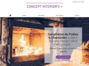 Concept Interior's Plus, cheminées et poêles à Saint-Dié-des-Vosges