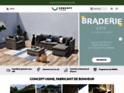 Concept-usine.com, l'ameublement d'intérieur et d'extérieur
