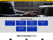 Documents juridiques personnalisables en ligne - Contract-Factory