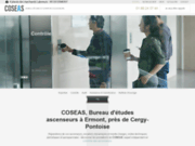 COSEAS, société spécialiste des ascenseurs à Ermont