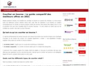 Courtierbourse.fr, votre conseiller et guide comparatif du secteur boursier