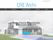CRE'Archi - maîtrise d'oeuvre et construction dans le Haut-Rhin en Alsace