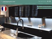 Crédence et décoration cuisine - Crédence Inox