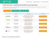 Crédit auto facile, le comparateur de prêt automobile