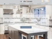 Conception de cuisines équipées mobilier sur mesure à proximité de La Tour du Pin en Isère