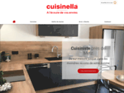La société CUISINELLA à Augny conçoit votre cuisine sur mesure