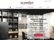 La société Cuisines Schmidt à Sarreguemines vous propose la vente de cuisine et salle de bains