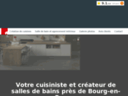Cuisiniste et créateur de salles de bains à Montagnat