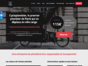 Cycloplombier : Plombier moins cher et eco-responsable