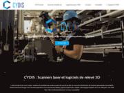 Cydis : Distributeur de scanner laser 3D