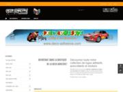 Boutique de vente en ligne d'autocollants moto