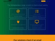Deltadromeus Email Checker vérifie si l'adresse email des visiteurs existe