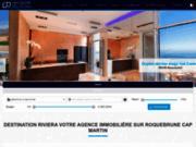 Agence immobilère de la Côte d'Azur basée à Roquebrune Cap Martin