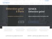 Senex - Détective privé Paris