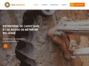 Le spécialiste du carottage, du forage et du sciage de béton en Belgique