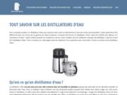Guide pour choisir un distillateur d'eau