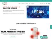 DOCTOR COPPER : film microbien à base de cuivre