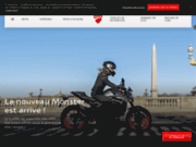 Site officiel moto DUCATI