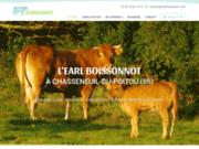 Exploitation Bovine EARL Boissonnot à Chasseneuil-du-Poitou