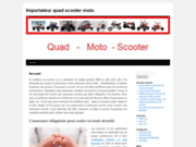 Importateur quad scooter moto cross dirt bike