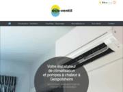 Eco-Ventil, votre installateur de climatisation et pompes à chaleur à Geispolsheim
