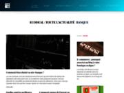Ecodeal, des articles récents relatifs au secteur financier