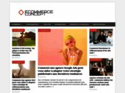 E-Commerce concept : un site en ligne consacré au Webmarketing