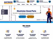 Electricien Grand Paris : dépannage, installation, remise aux normes électrique