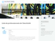 Blog et annuaire d'électriciens