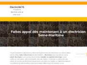 Electricité76 - Trouvez votre électricien en Seine Maritime