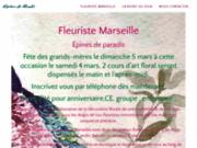 Fleuriste épines de paradis à Marseille