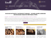 Escale75 annuaire du massage à Paris