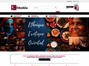 Ethnikka : boutique en ligne de sari cosmétique tenue