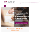 Cours d'appui au centre de soutien scolaire Eurê-K à Bulle et Fribourg