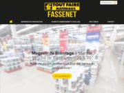 Fassenet Matériaux, magasin de bricolage à Marnay